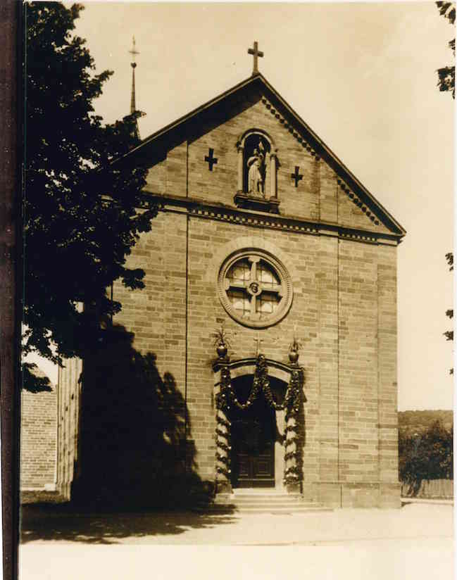 The portal of St Bonifatius, view dated 1897.